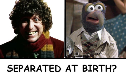 Tom baker gonzo separated at birth by sideshowjane