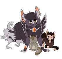 Trio :R: by TheKittypet