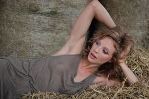 With Anna in the hay 4 by PhotographyThomasKru