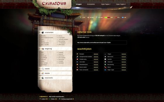 Chinatown ingame by CyXo