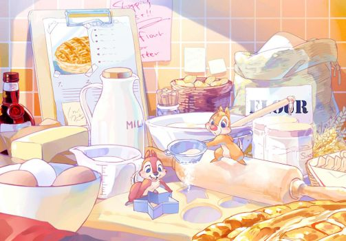 patisserie Chip and Dale by Umintsu