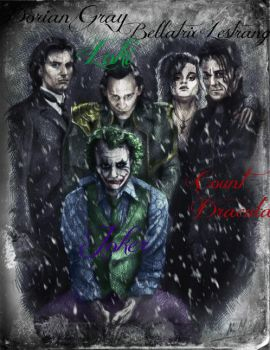 Group Photo in Winter by jokercrazy