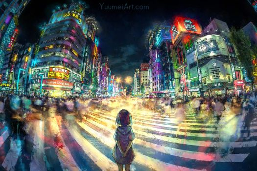 Still Waiting by yuumei