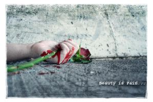 Beauty is Pain by overexxxposed