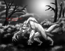 HWE Beast of Bray Road by RenDragonClaw