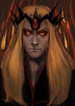 Sauron doodle by toherrys