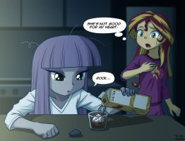 Midnight Tea Break by uotapo