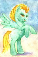 Watercolor Lightning Dust by jay156