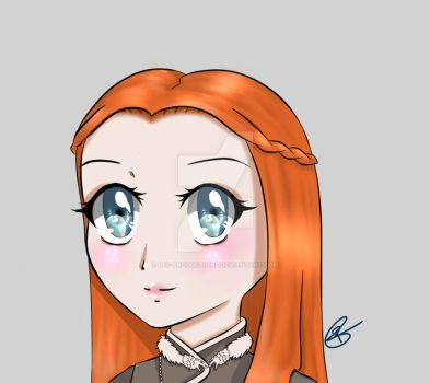 GOT Sansa Stark [WIP] by Bec-Productionz