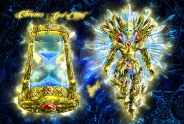 Chronos, the ancient God of Time - War mode by Sekishiki