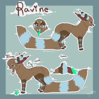 Ravine's New Ref 16 by LittleRavine