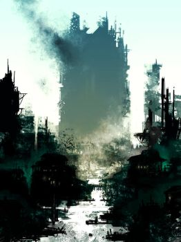 Broken city by torvenius