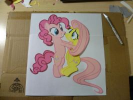 Papercraft - Surprise Hugs! by JackOfMostTrades