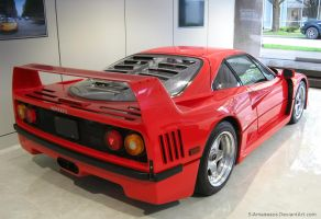 F40 rear by S-Amadeaus