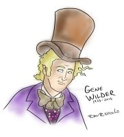 Gene Wilder - 1933-2016 by RyanNitsch