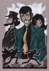 Lupin 3rd by DenisM79