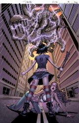 Hack/Slash cover Issue 8 by Danielleister