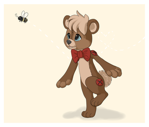 Theo and the Bee by KatsaKitty
