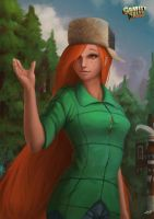 Wendy Corduroy by hunky-dory-artist