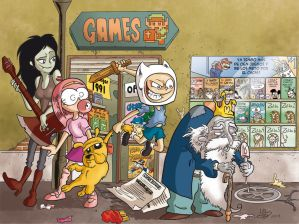 Real Life Adventure Time by mariods