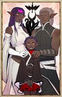 Neh Family by drowtales