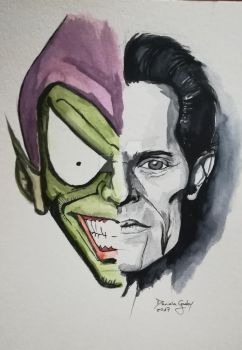 Green Goblin by Davinia Godoy