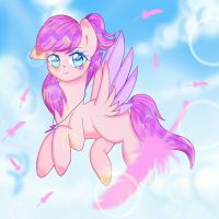 (C) Pink feather by Pinka-Poo