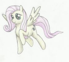 Fluttershy Pencil by SuperKingC777