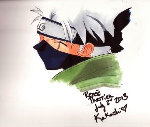 Kakashi by ReneeTherrien