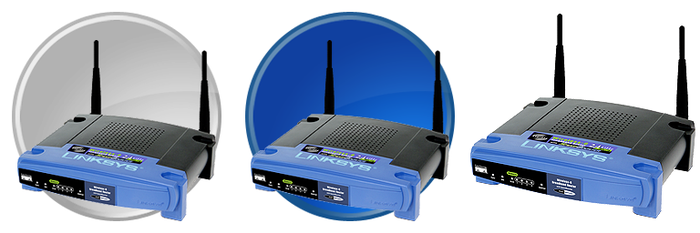 Linksys Dock Icons by Presto-X