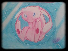 Mew, Pokemon the first movie by NitrusBrio68