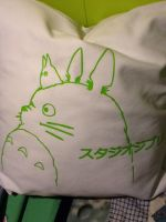 totoro pillow by sharkn06