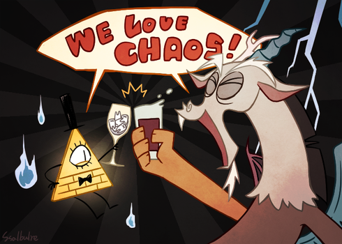 Chaos! by Ssalbug