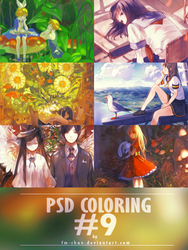 PSD COLORING #9 by BCaves