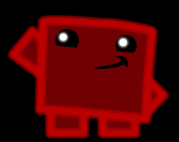Meat Boy Neon by Ellittest