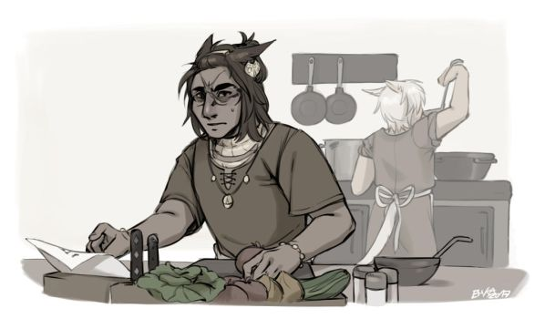 In the Kitchen by eMKa46