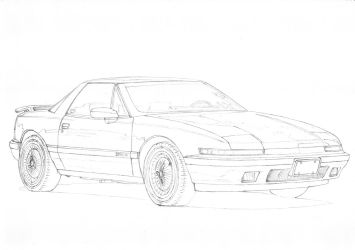 Buick Reatta 1 by PaperGarage