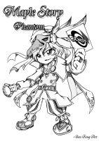 Maple Story Phantom Thief by PathOfDawn