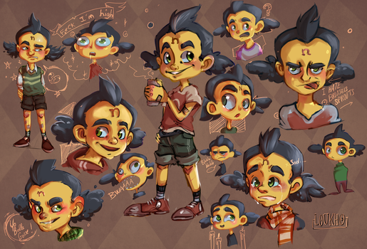 Sketch : Young Neo Cortex by Loukho