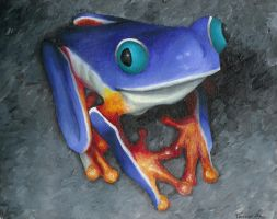 Frog II by lawngnome