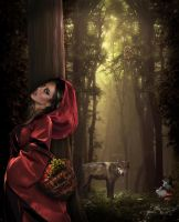 red riding hood by nurie