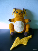 Raichu Doll by naox