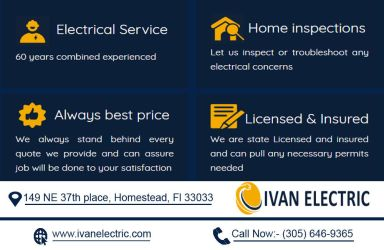 Ivan Electric Homestead | Call Now:  (305) 646-936 by ivanelectric