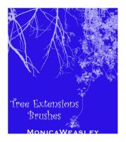 Tree Extensions Brushes by Stock-gallery