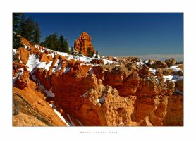 C4D Winter in Bryce Canyon by cravingfordesign