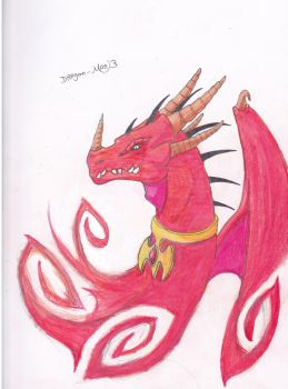 red dragon by dragon-man13