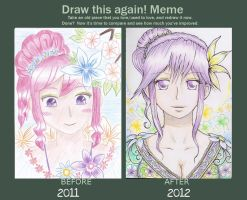 Another Draw Again Meme~ by gloowy