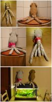 Squid plush prototype by Shegoran