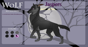 Jaspers | Awoo' | WoLF | RETIRED by ToothyApocalypse