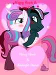 Happy Hearts and Hooves Day - from FlurryShard by Eeveewhite97